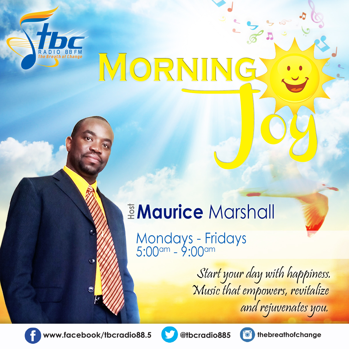 Morning Joy with Maurice Marshall