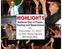 National Day of Fasting, Prayer and Repentance in Montego Bay, December 17, 2017